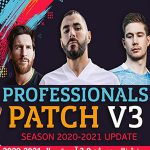پچ Professionals Patch V3.0 برای PES 2019